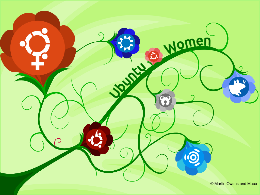 Ubuntu Women wallpaper